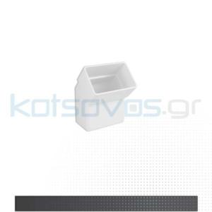 ΥΔΡΟΡΡΟΗ ΛΕΥΚΗ ΚΛΕΙΣΤΟΥ ΤΥΠΟΥ 6x10 PVC